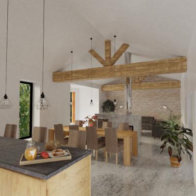 Rénover une maison ancienne dans les environs de Menton (Alpes-Maritimes 06)