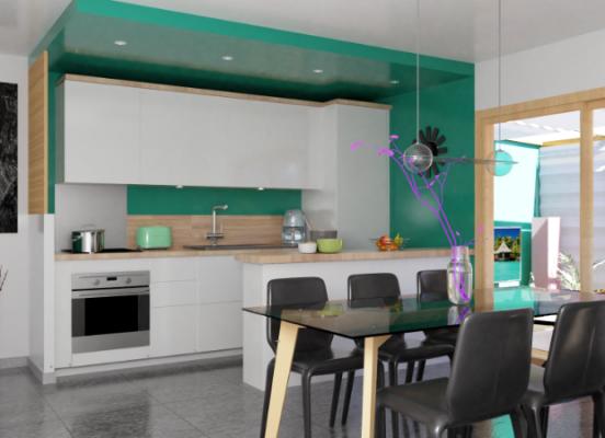 Restructuration d'un appartement à Sainte Agnès (Alpes Maritimes 06)
