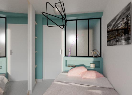 Transformation d'un appartement de 45 m² à Menton (Alpes Maritimes 06)