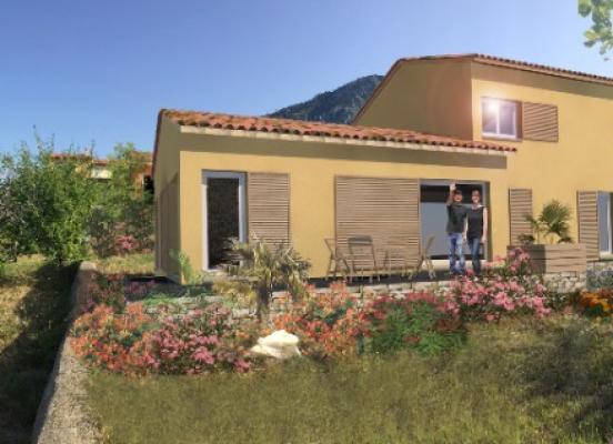 Projet de construction de 2 villas à Castellar (Alpes Martimes 06)