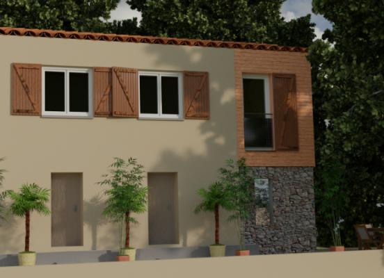 Extension et rénovation énergétique d'une maison individuelle à Menton (06)