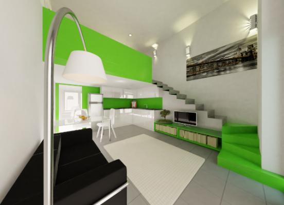 Transformation d'un garage en studio à Golfe Juan (Alpes Maritimes 06)